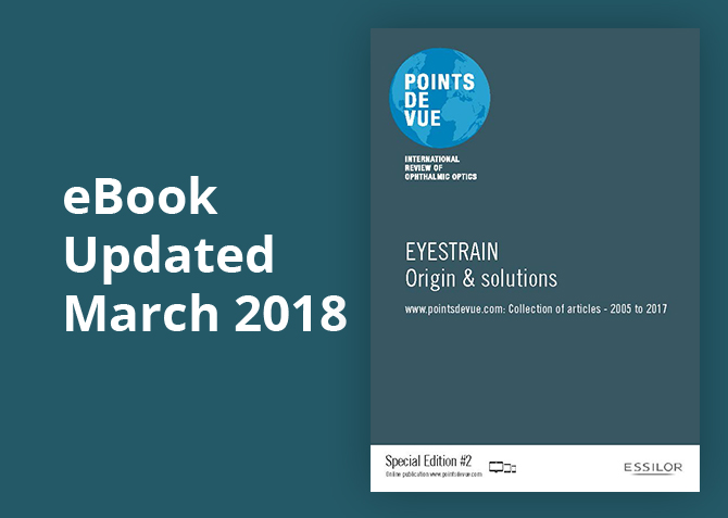 Eyestrain ebook 2018 Origin and solutions