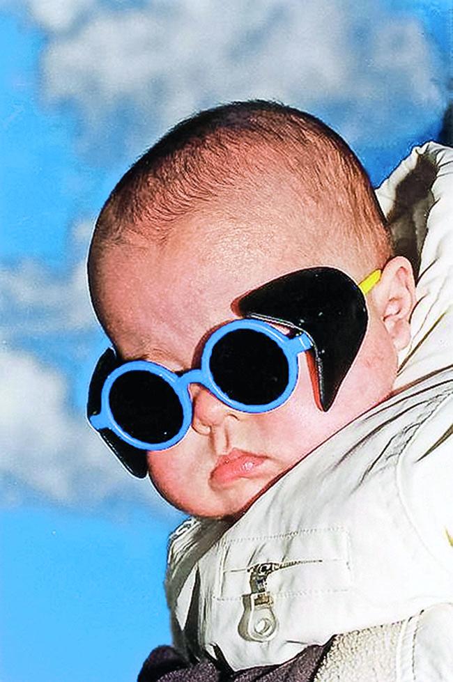 Evolution of sun protective eyewear for children.