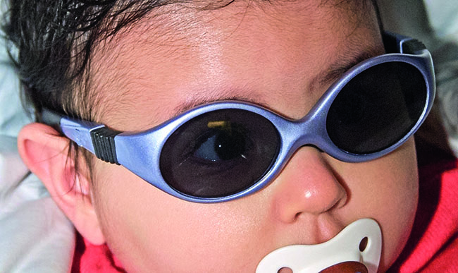 Evolution of sun protective eyewear for children.