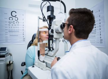 Low vision patient management